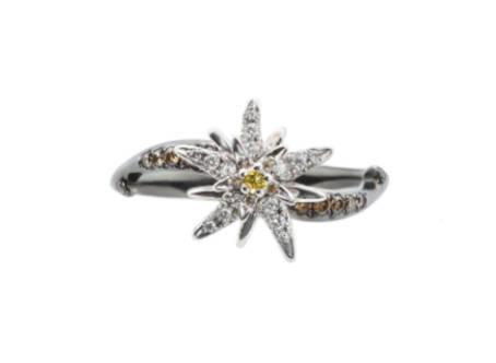 bague diamant edelweiss